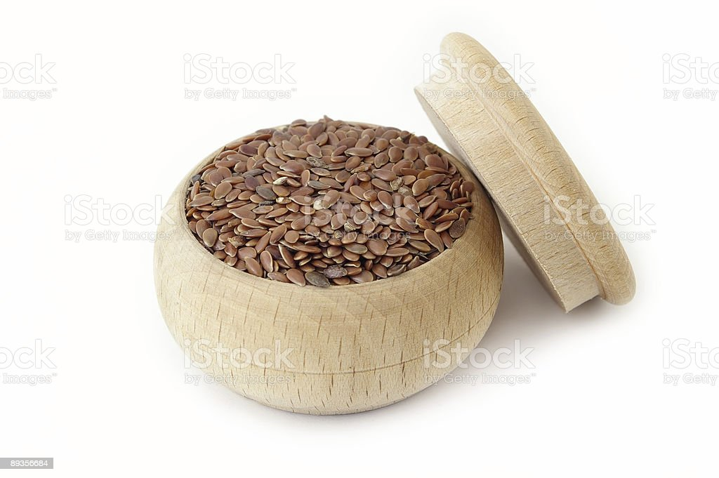 Linseed royalty-free stock photo