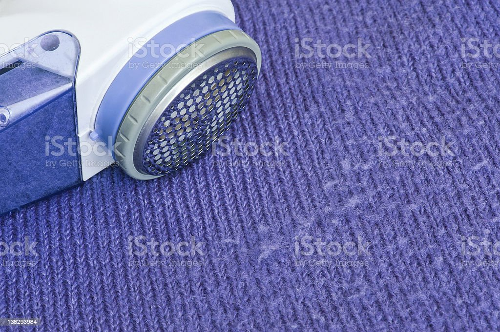 Lint remover stock photo