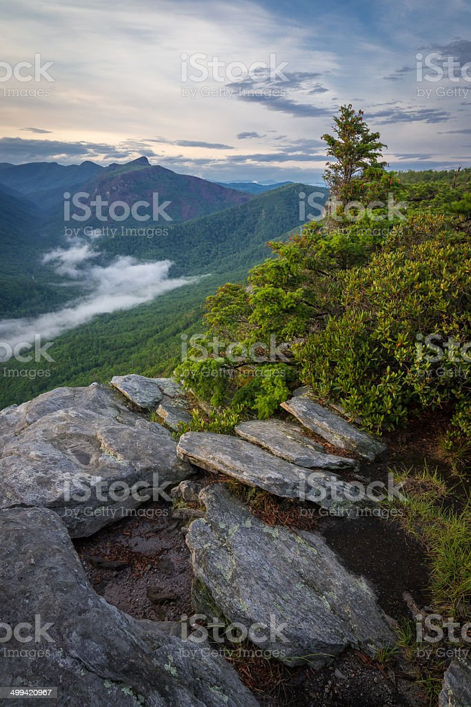 Linville Views stock photo