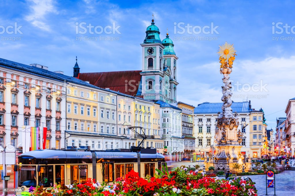 Linz, Austria. stock photo
