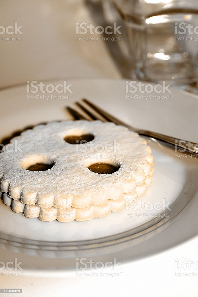Linzer Auge royalty-free stock photo