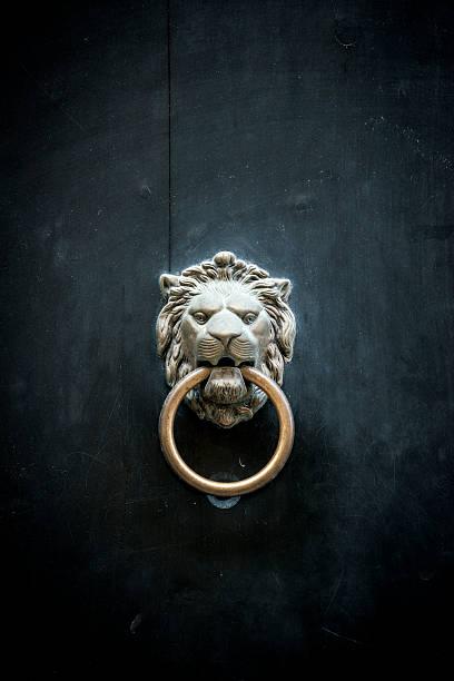 lion 노커 - 노커 뉴스 사진 이미지