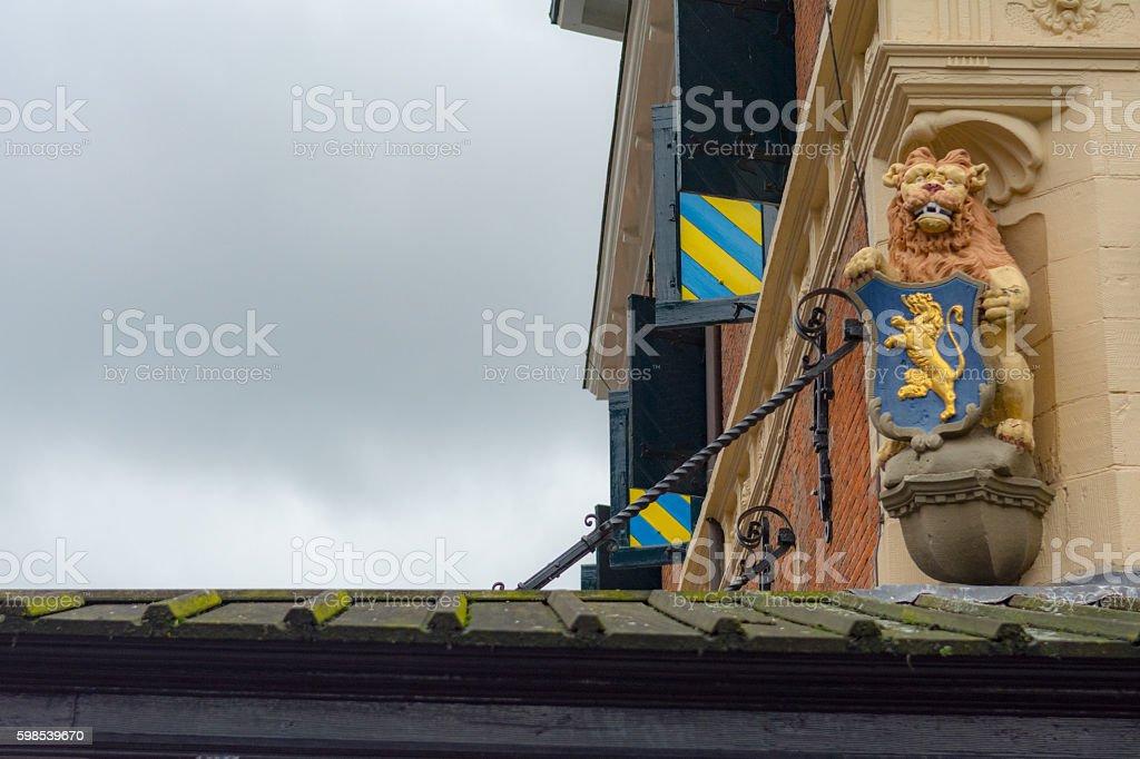 Lion niederländische-Wappen – Foto