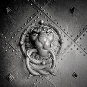 """""""Lion Head Door KnockerResidenzschloss Castle in Dresden, Germany"""""""
