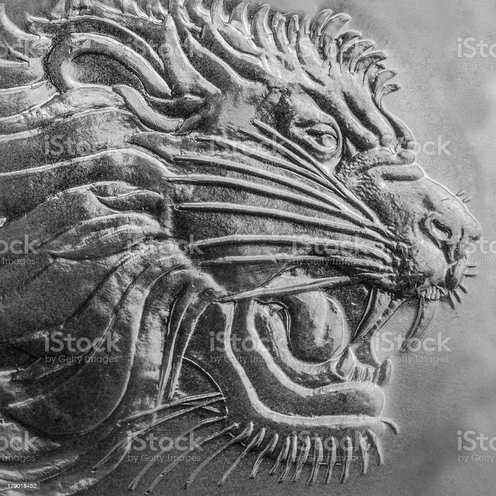 Lion  of Judan royalty-free stock photo