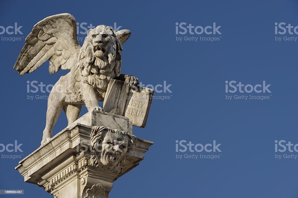 Lion of Saint Marc royalty-free stock photo