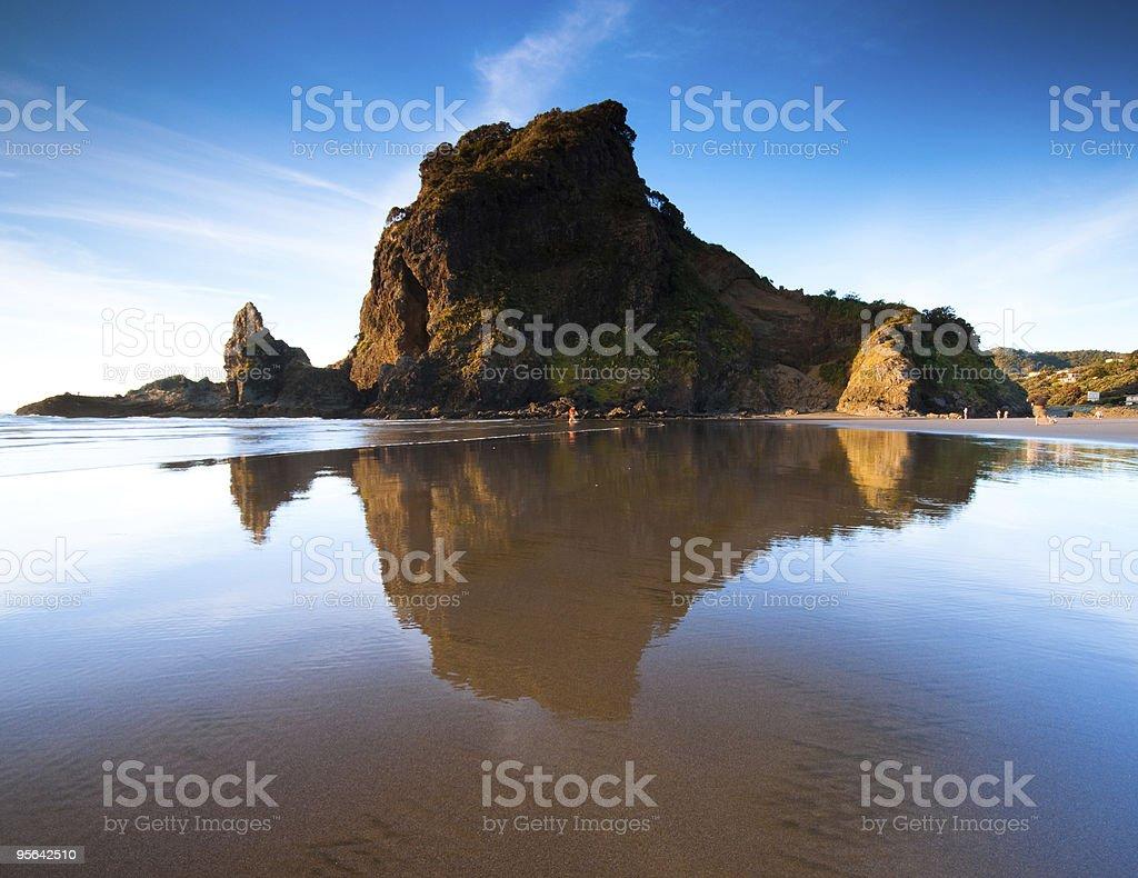 Lion Rock stock photo