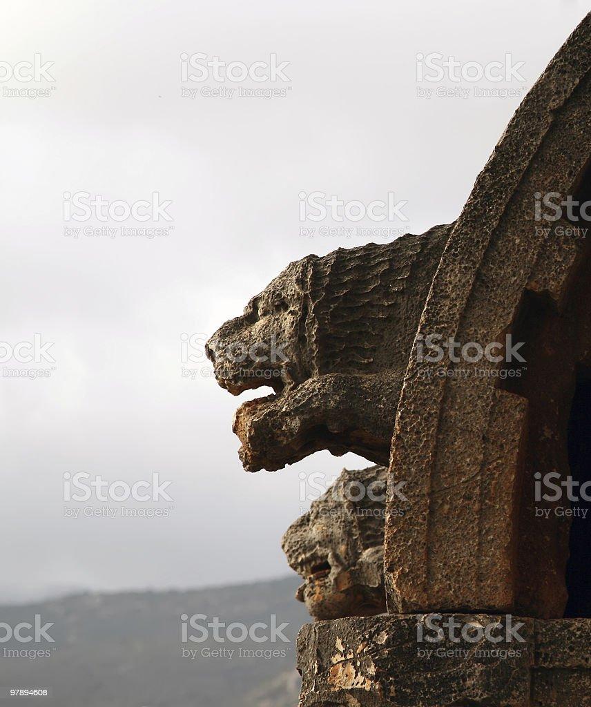 Lion Tomb royalty-free stock photo