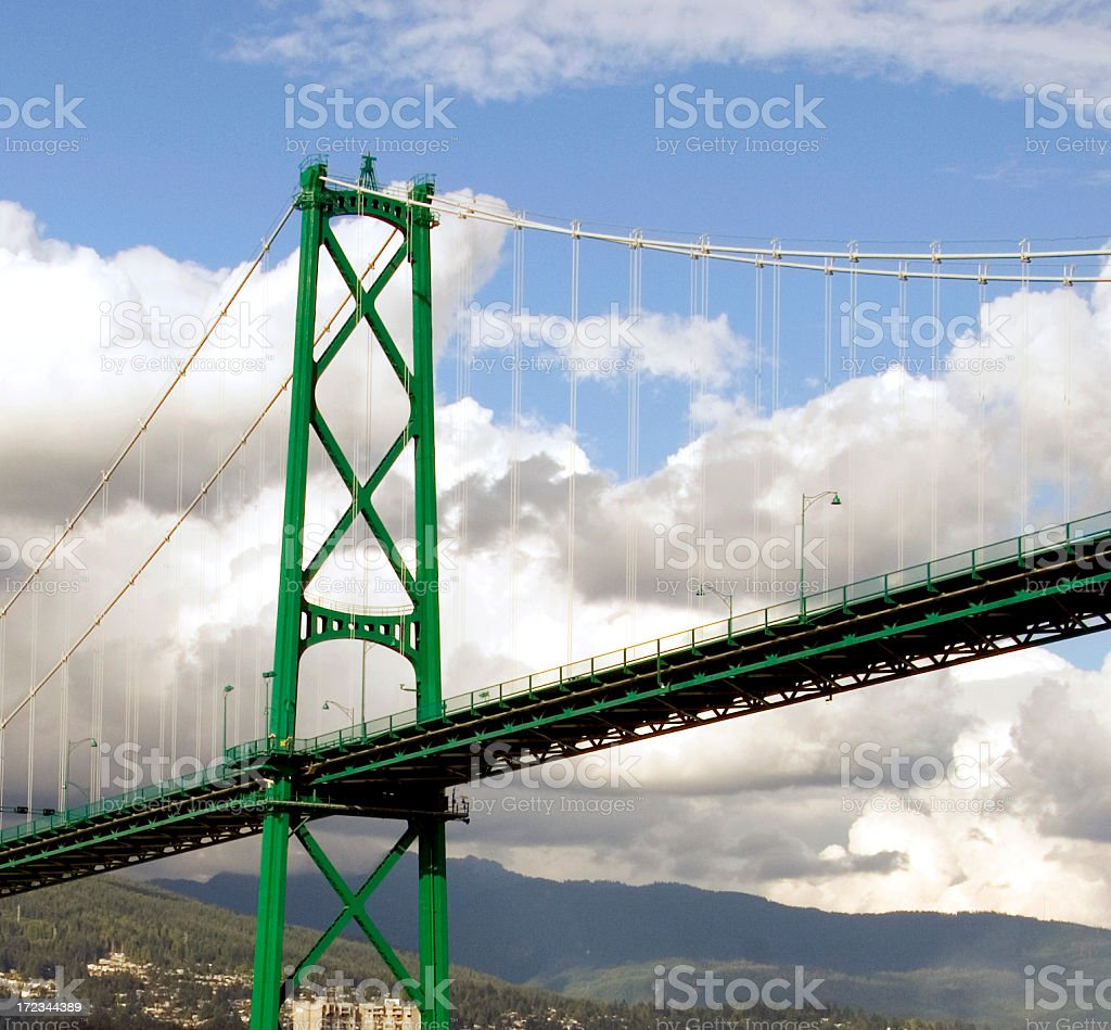 Lions Bridge royalty-free stock photo