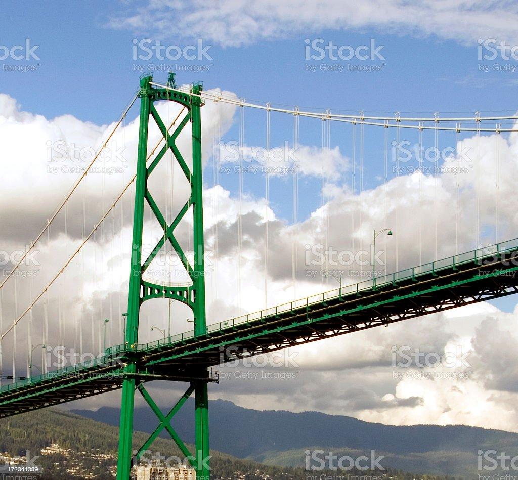 Lions Bridge stock photo