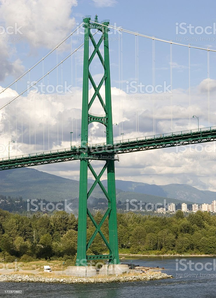 Lion's Bridge stock photo