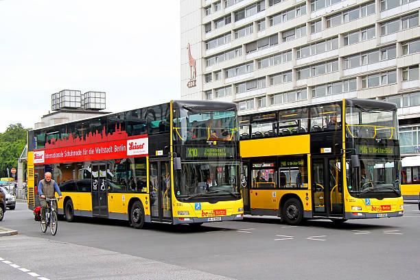 mann a39 lion's city tt - berlin express stock-fotos und bilder