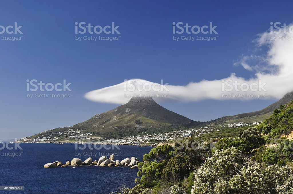 Lion's Head - Cape Town, South Africa stock photo