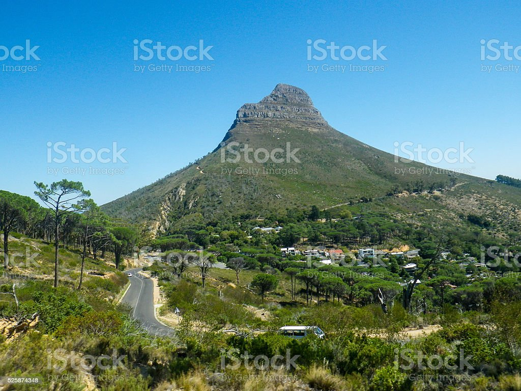 Lions Head Mountain Road stock photo