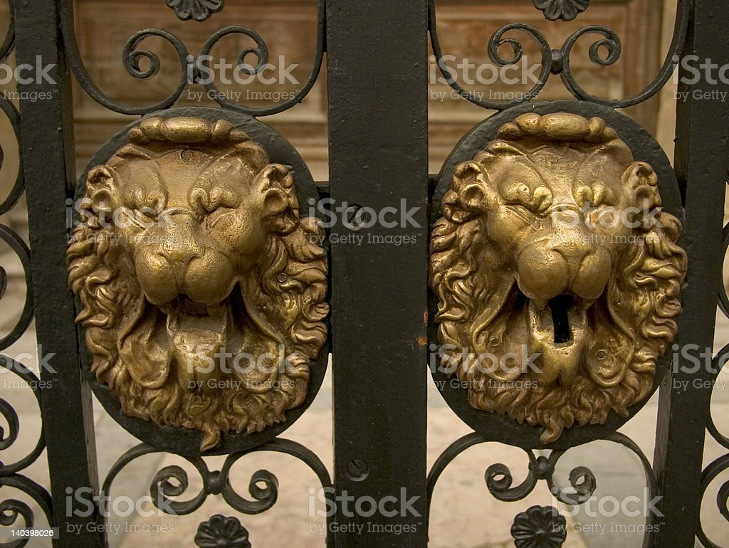Lion's Head stock photo