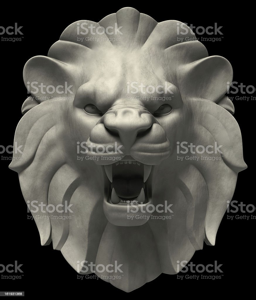Lion's Head royalty-free stock photo