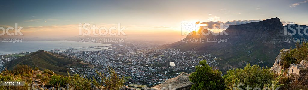 Lions Head viewpoint 5 stock photo