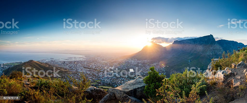 Lions Head viewpoint 6 stock photo