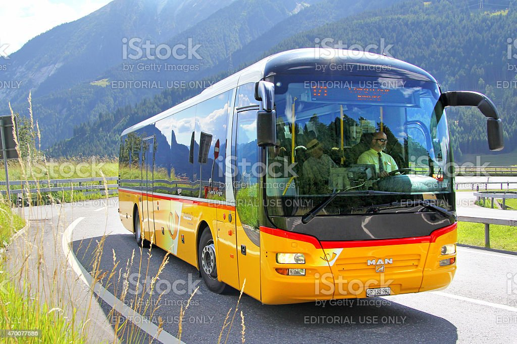MAN R12 Lion's Regio stock photo