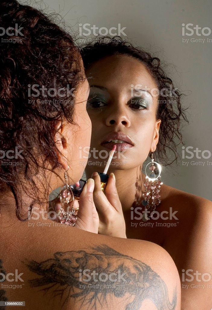Lip Gloss royalty-free stock photo