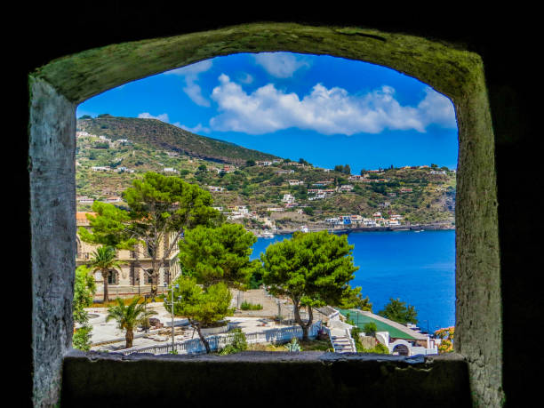 Lipari, Aeolian Island, Italy stock photo