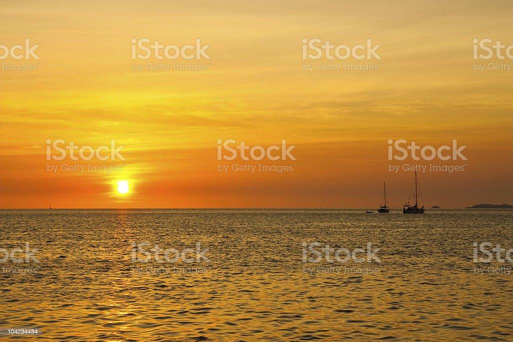 Lipe island, south of Thailand royalty-free stock photo