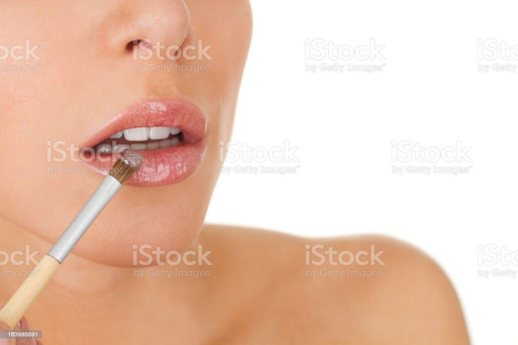 lipgloss royalty-free stock photo