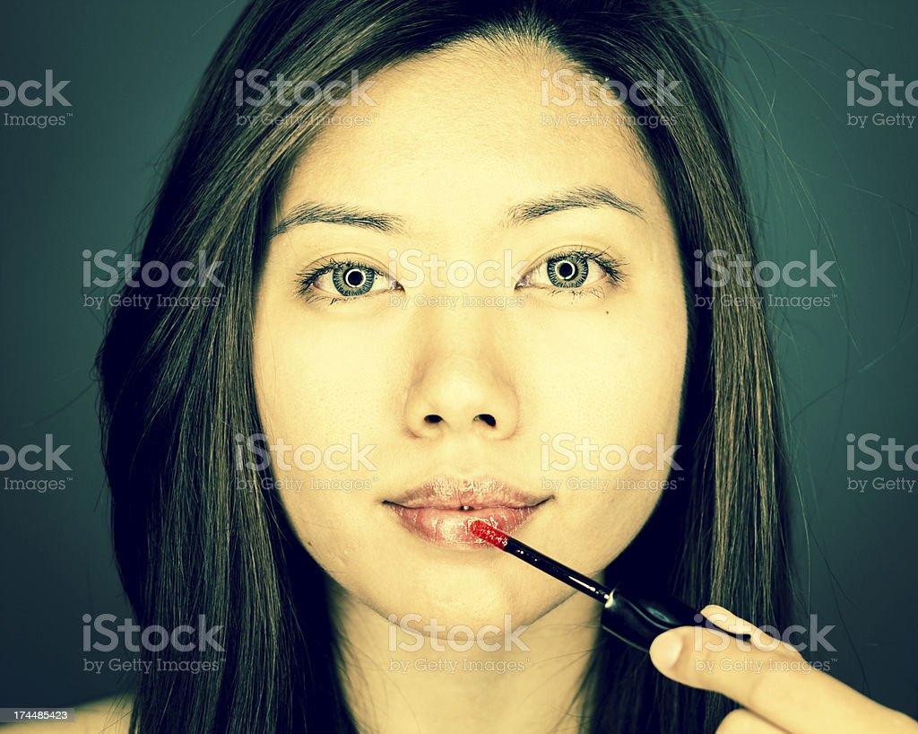 Lipgloss stock photo