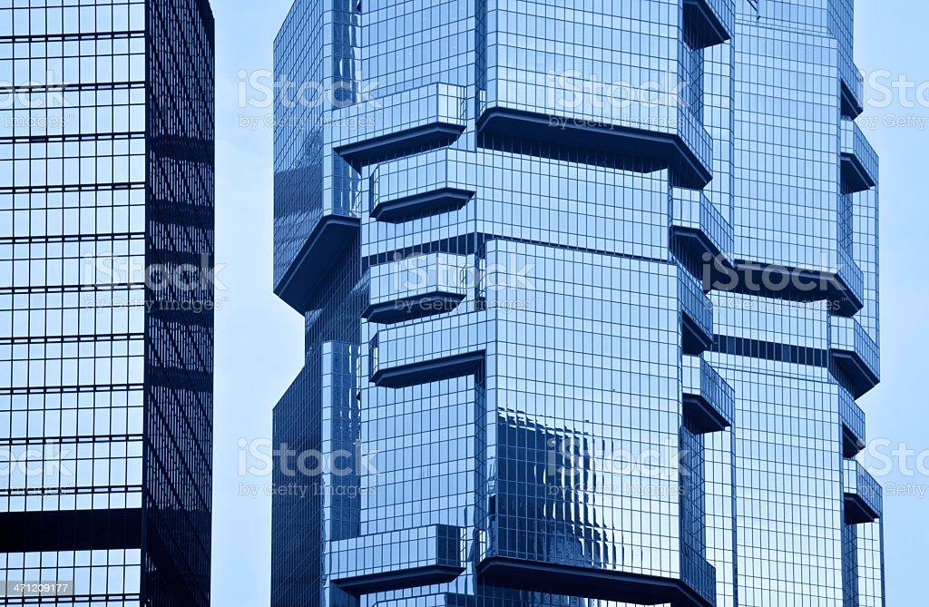 Lippo Centre, Hong Kong stock photo