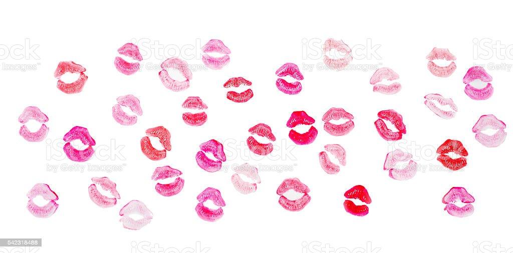 lips background stock photo