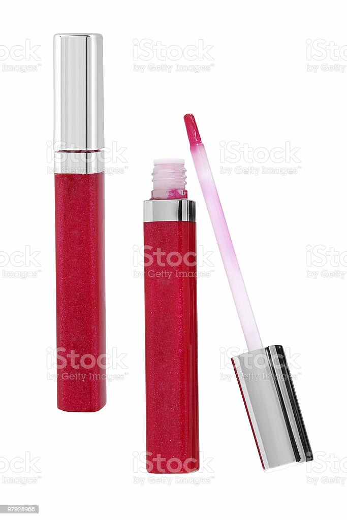 Lips pen royalty-free stock photo