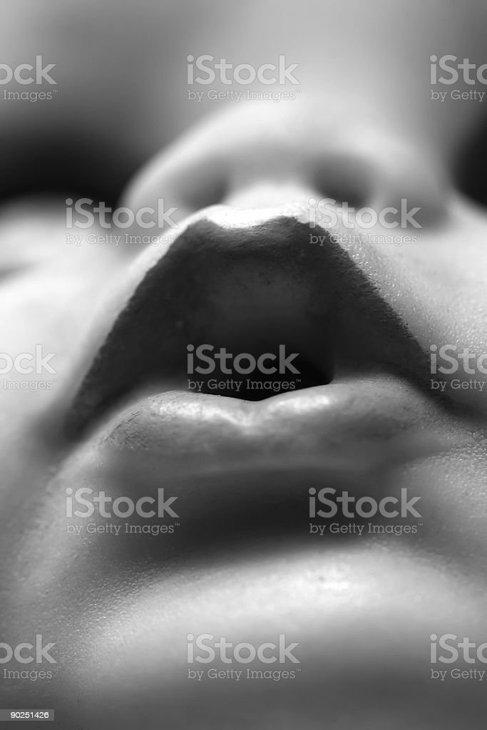 Lips royalty-free stock photo