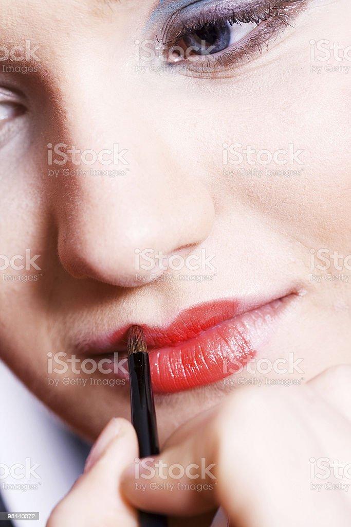 입술모양 royalty-free 스톡 사진