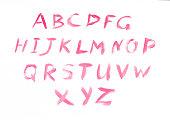 Lipstick Alfabet