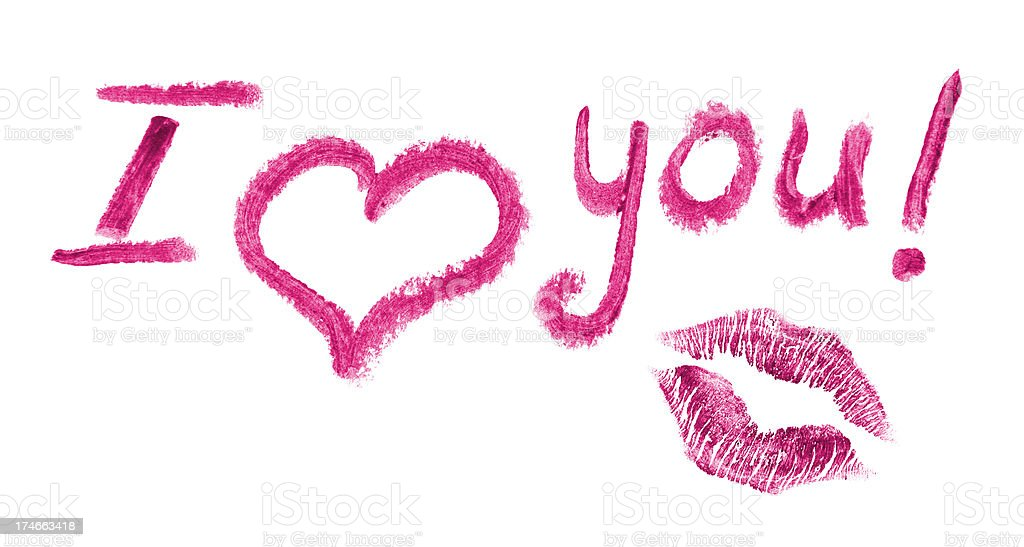 Lipstick Love Letter Stock Photo More Pictures Of Beauty Istock