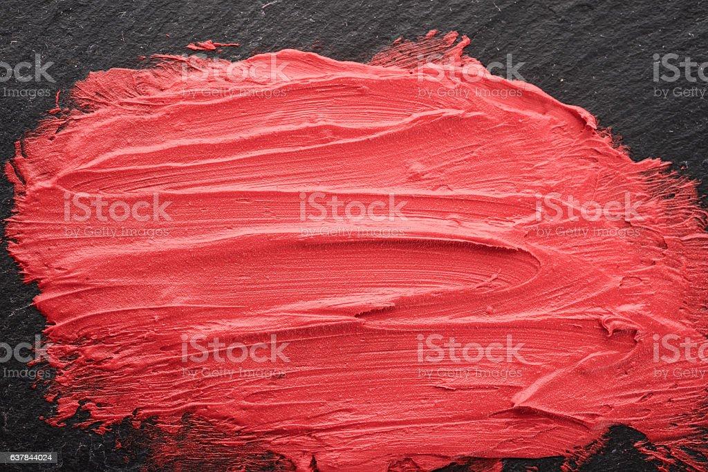 lipstick, paint texture – Foto