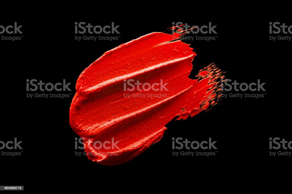 Lipstick sample - Royalty-free 1980-1989 Stock Photo