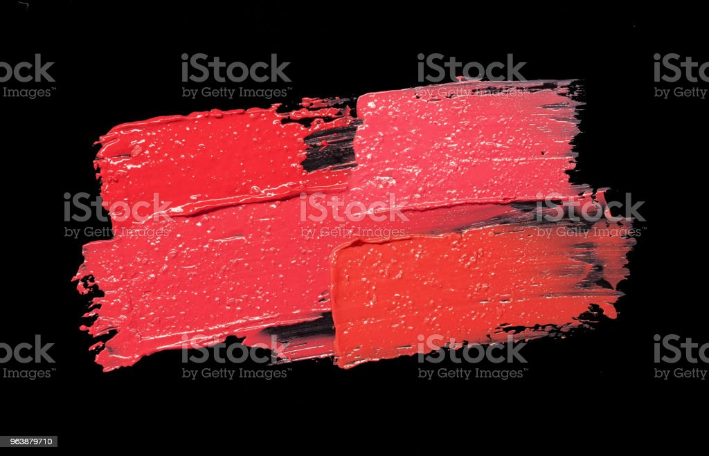 Lipstick sample - Royalty-free 1980-1989 Stock Photo