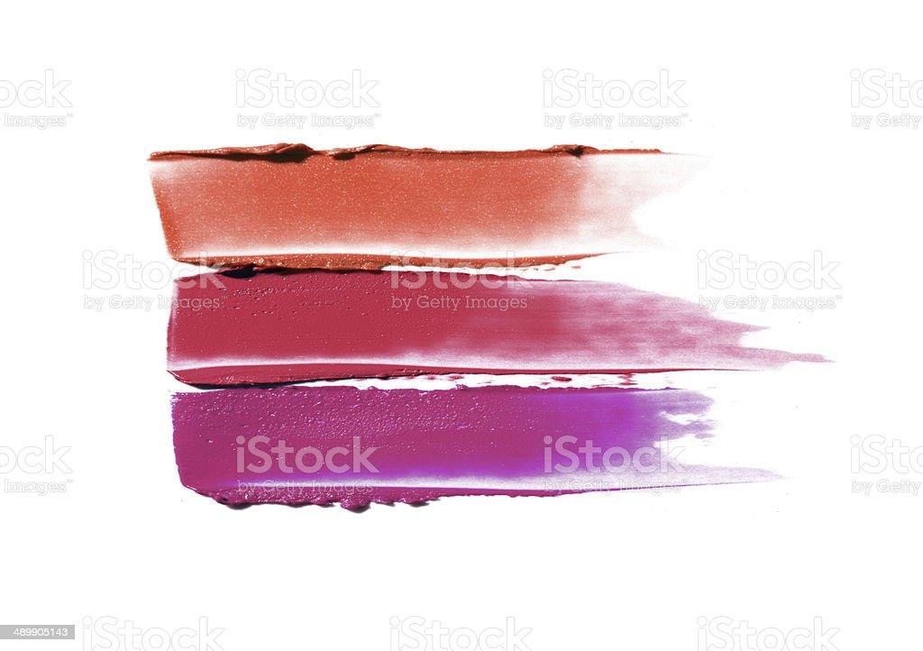 Lipstick smears