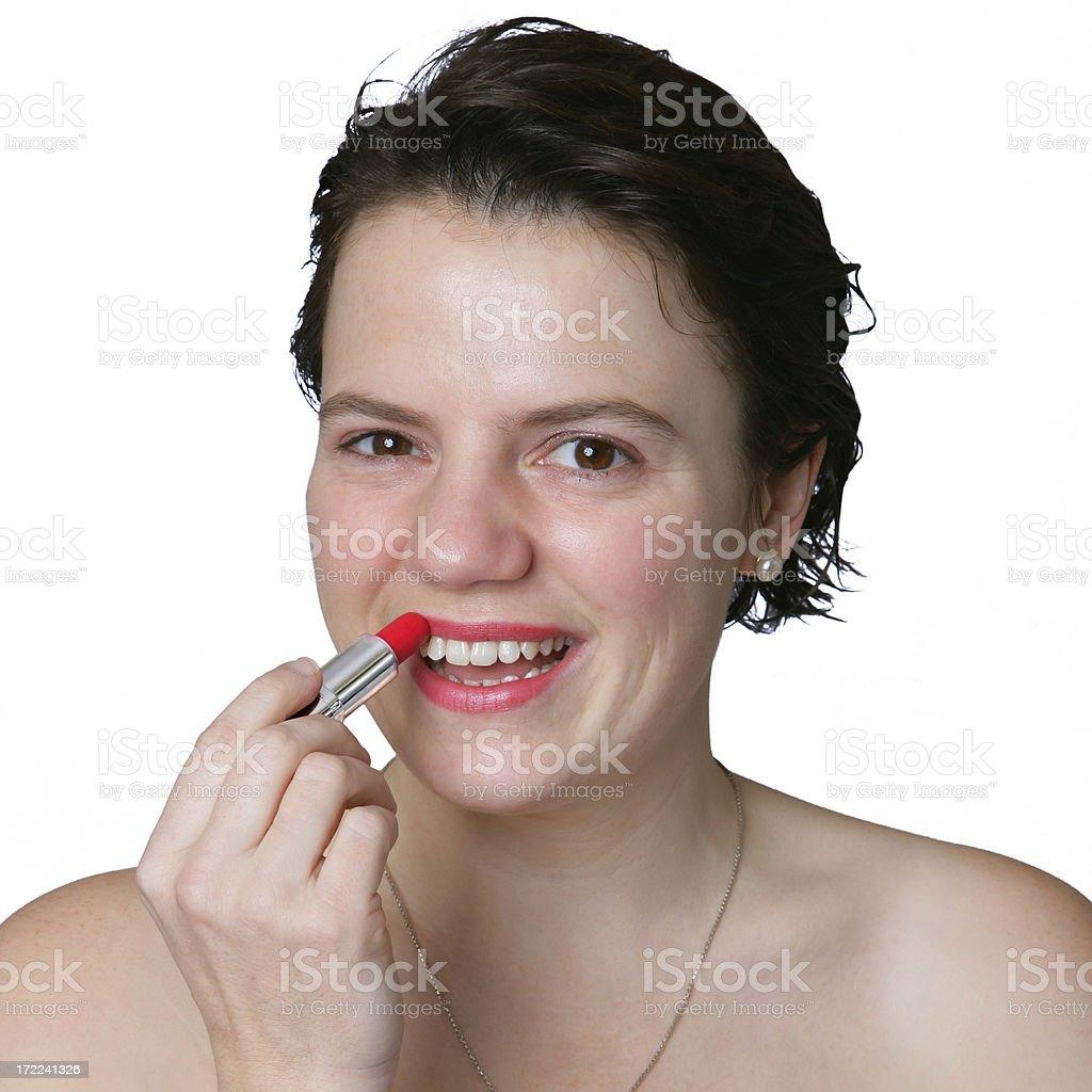 Lipstickportrait 01 – Foto