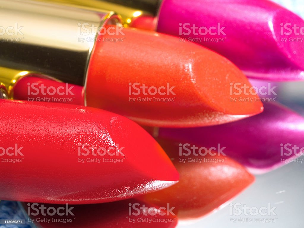 Lipsticks royalty-free stock photo