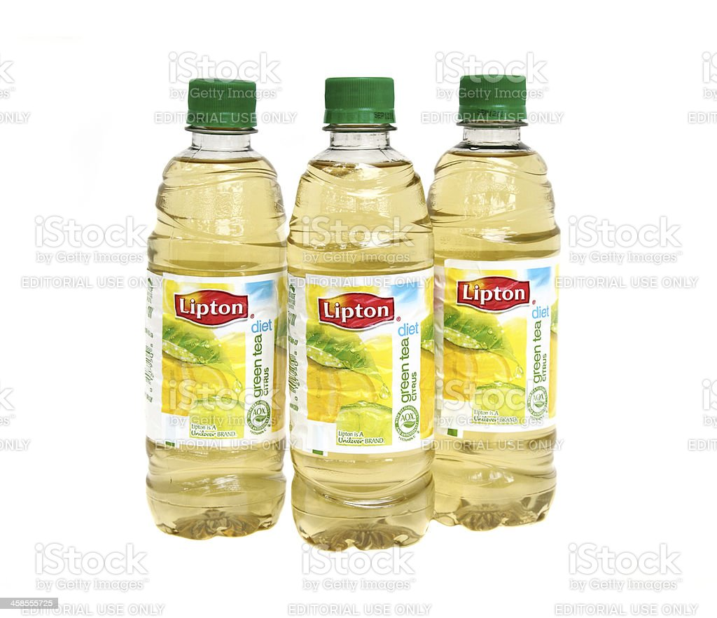 Lipton citrus flavored Diet Green Tea