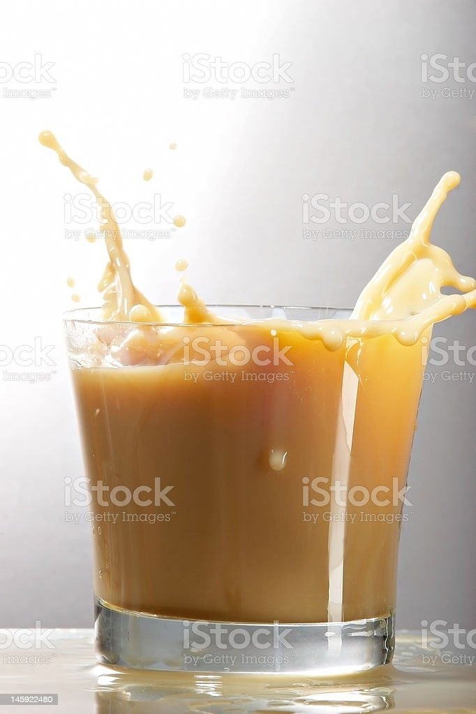 liqueur in glass royalty-free stock photo