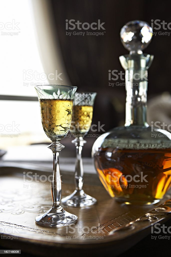 Liqueur royalty-free stock photo