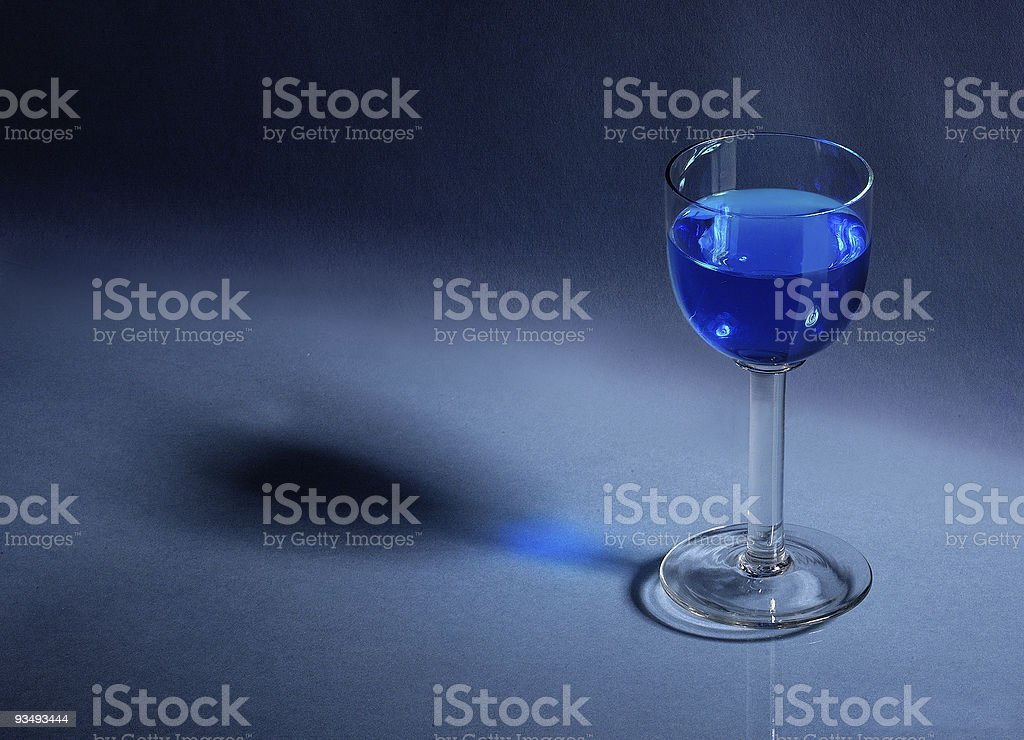 Liqueur-glass royalty-free stock photo