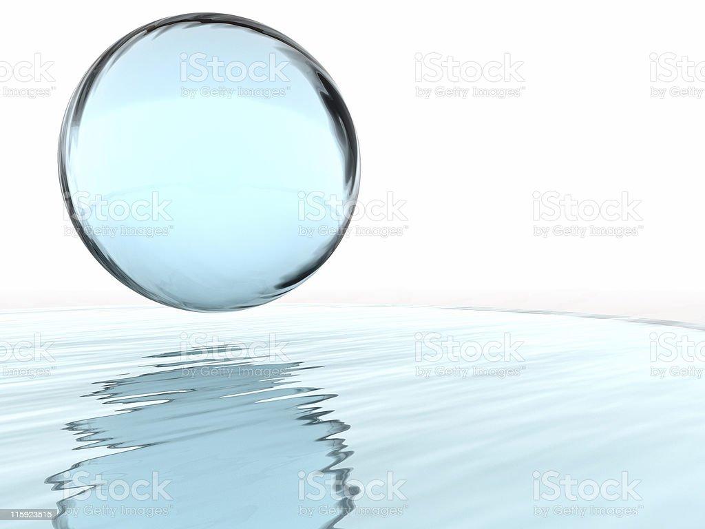 liquid ball stock photo