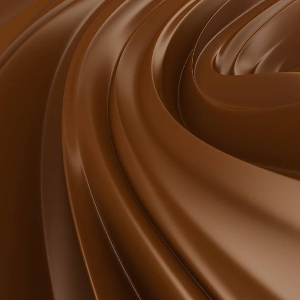 Liquid Chocolate background stock photo