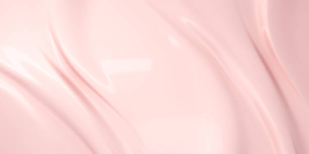 Liquid cosmetic cream texture background Liquid subtle pink background, cosmetic cream texture, 3d illustration liquid stock pictures, royalty-free photos & images