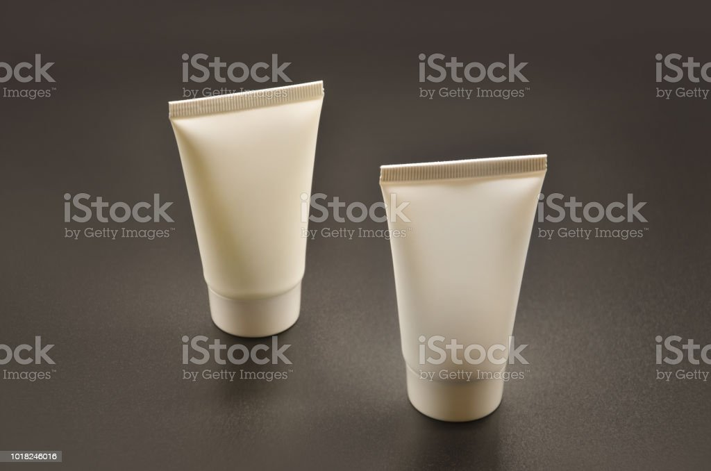 Liquid Cream Lotion Cosmetic Container Packaging Mockup