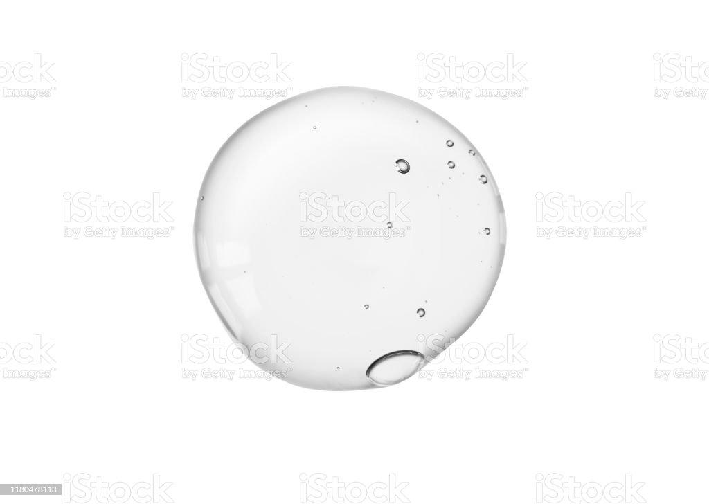 현미경 스크린 격리배경에 액체 젤 또는 혈청 - 로열티 프리 각질제거 스톡 사진